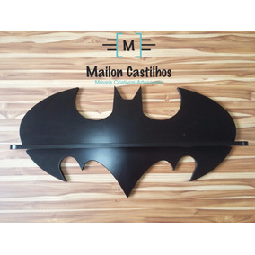 Prateleira Nicho Batman - 100% Mdf 12 Mm - Frete Grátis!