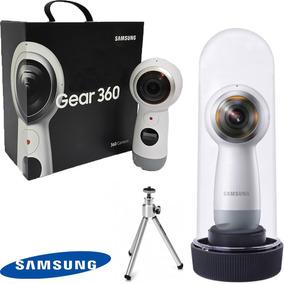Samsung Gear 360 2017 + Case A Prova Dágua+ Pau De Self
