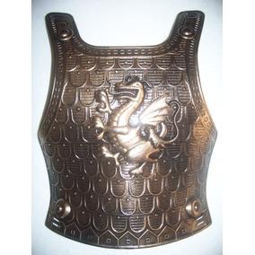 Disfraz Caballero Medieval Para Niño Peto Pecho Y Escudo