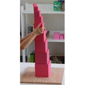 Torre Rosa Montessori Material Didáctico