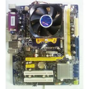 Tarjeta Madre Foxconn M61pmv Am2 + Procesador + Wifi