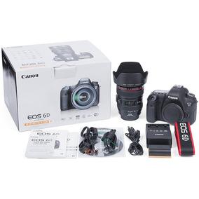 Camara Canon 6d Wg Kit 24-105 - Full Frame - Efvo