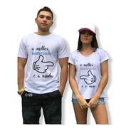 Blusa De Namorados O Melhor Casal Tshirt