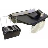 Gafas Lupa Para Joyero Relojero Estética Tecnicos Luz Led