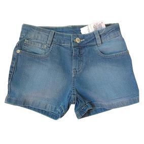 Short Jeans Infantil Menina Marisol