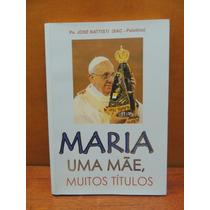 Livro Maria Uma Mãe Muitos Títulos Padre José Battisti