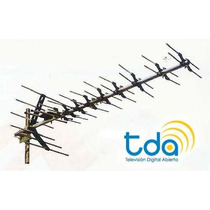 Antena Tv Digital Hd Publica Tdt Tda Uhf 43 Elementos