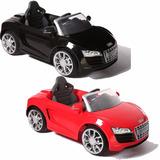 Auto A Bateria Audi R8 C/control Remoto Mp3 Fm Kiddy + Envio