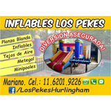 Alquiler Castillos Inflables, P. Blanda, Metegol, Tejo, Pool