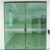 Faixa De Segurança Jateada Para Porta De Vidro 1,00 X 0,10m
