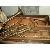 Lote Antiguas Trompetas A Restaurar Instrumentos Viento