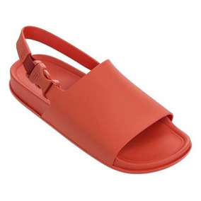Melissa Beach Slide Vermelha - Nova, Original. Frete Grátis!