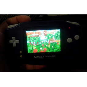 Game Boy Advance Com Display Iluminado