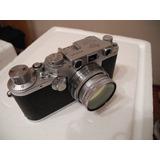 Maravillosa Leica Iiif (3f) De 1955 + Lente 50mm F2 Summar