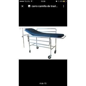 Carro Camilla De Traslado Cromado