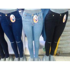 Pantalones Para Dama Clasicos Strech Corte Alto
