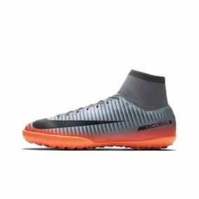 Chuteira Nike Mercurial Botinha Victory Vi Cr7 Df Tf Society