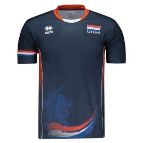 Camisa Errea Holanda Vôlei Away 2017