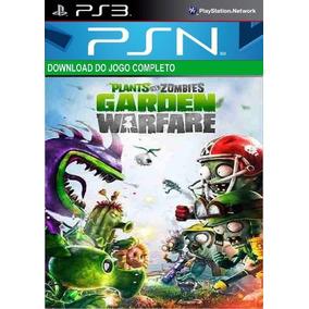 Jogo De Ps3 Original Plantas Vs Zumbi Garden Warfare Digital