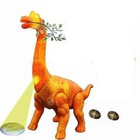 Eletrônico Dinossauro, Anda, Emite Som, Luzes Brinquedo