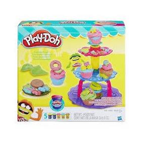 Play Doh Torre De Cupcake A5144 Massa Modelar Hasbro