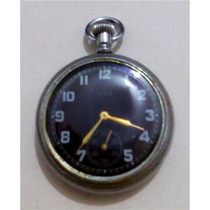 Relógio De Bolso Elgin Militar De Guerra Inglês Mark Ii