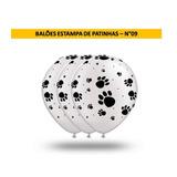 Balões Estampa De Patinhas - N°09 - 50 Unidades