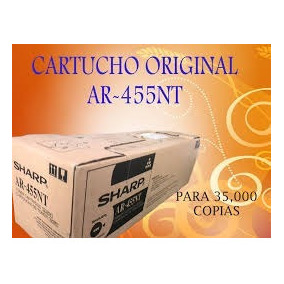 Toner Original Sharp Ar-455nt
