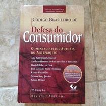 Livro Código Brasileiro De Defesa Do Consumidor Autores 7ªed