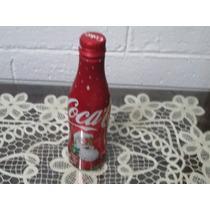 Refresco Coca Cola En Aluminio Con Santa Claus Lleno