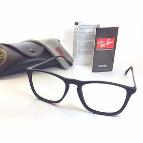 Armacao De Oculos Grau Quadrado Cris Unissex Acetato Preto