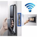Fechadura Digital Biométrica Inteligente Push / Pull Shs-p71