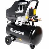 Compressor Ar Duplo 25l Pistão 2hp Pintura 8 Bar 220v 80-25l