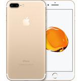Iphone 7 256gb Plus Dourado - Novo Garantia Apple 1 Ano