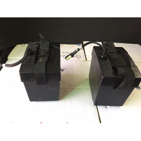 Par De Contenedores Para Baterias Originales Silla Jet7..