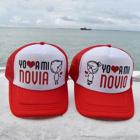 Gorras Para Novios Estilo Yo Amo A Mi Novia / Novio Parejita