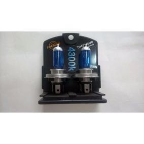 Kit Lampada Tesla H4 24v 100/90w Azul (super Branca) 4.300k