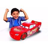 Vehículo Disney Cars 3 Rayo Mcqueen De 50 Cm