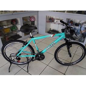 Bicicleta 26 Alumínio 21 Velocidade Gallo Com Suspensão .