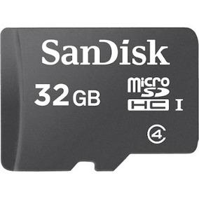 Cartão De Memória 32 Gb Sandisk Sd Card Celular Frete Grátis