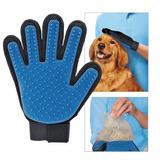 Guante Cepillo Mascotas Tipo True Touch Perro Gato Con Envío