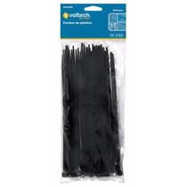 50 Cinchos De Plastico Negros De 30 Cm 50 Lb Voltech 44328