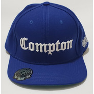 Boné Compton Original Chronic Aba Reta Azul Tradicional