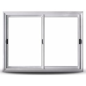 ventana oblak varesenova x aluminio blanco vidrios