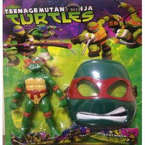 Boneco Tartarugas Ninja + Máscara