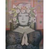 Litografía Virgilio Trompiz (virgen De La Paz)