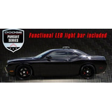 Dodge Challenger Srt8 Blackout Chase Car Con Led Lightbar Ed