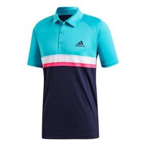 Camisa Polo Adidas Masculina Listrada - Calçados 802b156377b3b