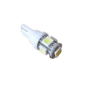 Led T10 W5w 5 Leds Lampara Luz Posicion Del Auto 6000k