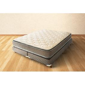 Sommier Y Colchon Cannon Exclusive Pillow 2 X 2 King Espuma